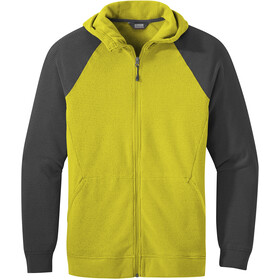 Outdoor Research Trail Mix Chaqueta Hombre, citron/storm